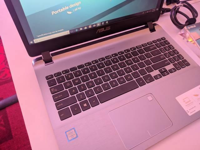 Fingerprint sensor on the touchpad