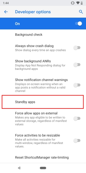 Standby Apps