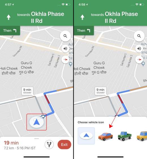 google maps 1-2
