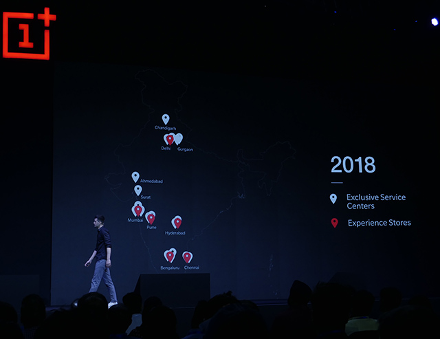 OnePlus India to Open 5 New Experience Stores, Multiple Exclusive Service Centers