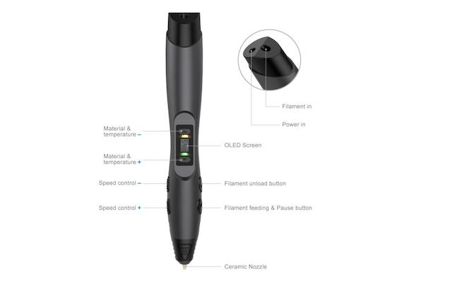 8. 3D Printing Pen From Tecboss