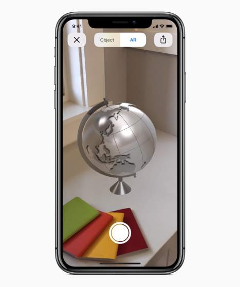 Bring AR objects into the real world