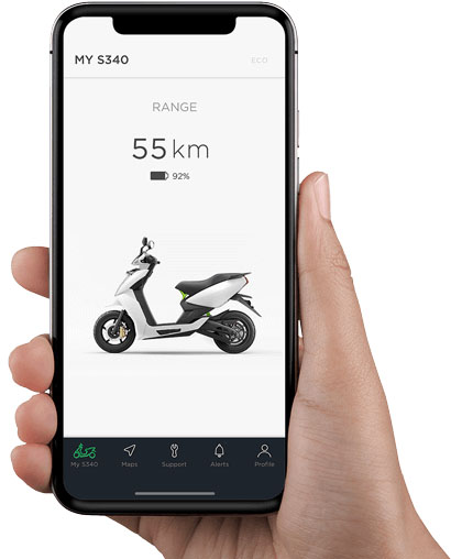 Ather S340 app