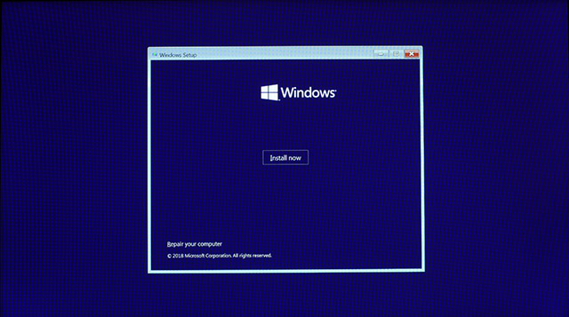 Install Windows 10 6