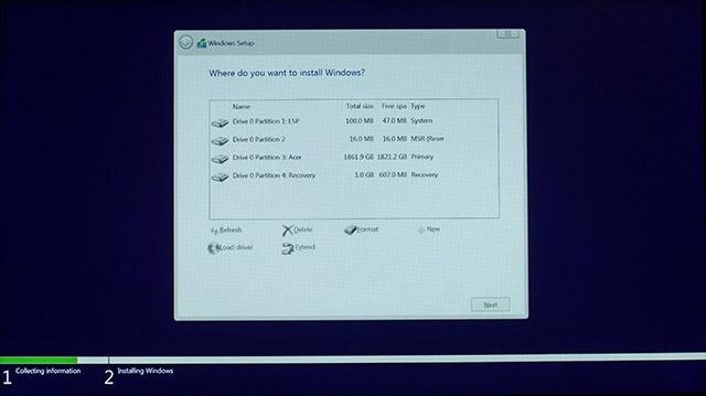 Instalar Windows 10 9
