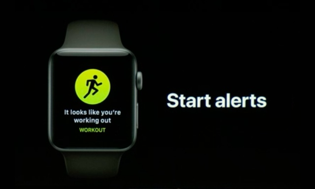 auto-workout detection alerts watchos 5