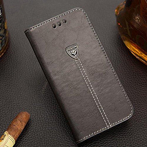 3. D-Kandy Leather Flip Wallet Case for ZenFone 5Z