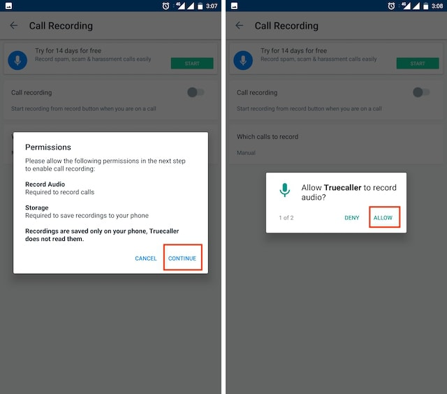 How to Record Calls Using Truecaller on Android 4