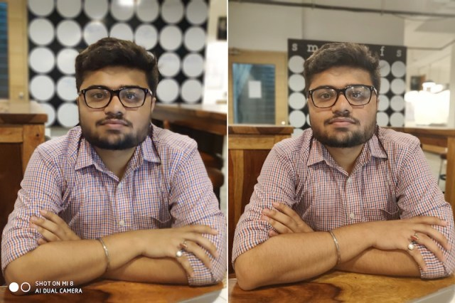 Mi 8 vs OnePlus 6 camera 9