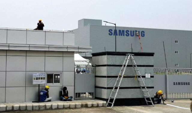 Samsung's Noida factory (Image: IANS)