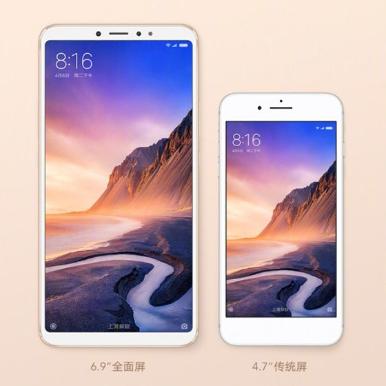 """Xiaomi Launches Mi Max 3 in China with Massive 6.9"""" Display, 5,500mAh Battery"""
