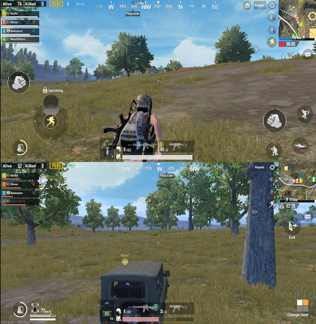 pubg on honor 9N