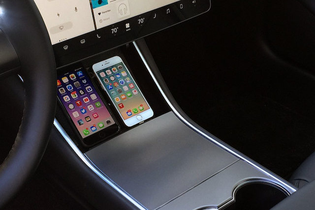 3. Dual Qi Wireless Charger For Tesla Model 3