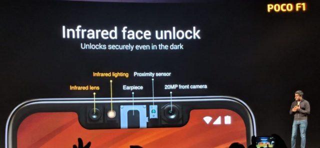 Xaiomi Poco F1 face unlock specs review camera video price buy