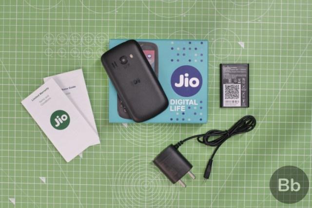 jiophone 2 box