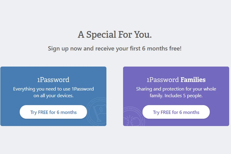 1Password Offer Gives Individuals, Families 6 Months ...