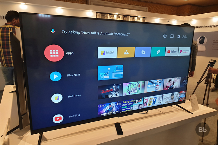 Stock Android TV Experience