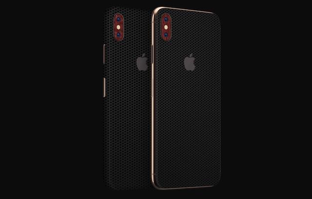 3. Dbrand Black Matrix Skin for iPhone XS Max
