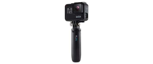 Get a free Shorty stand with the Hero7 Black