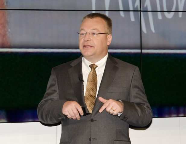 nokia then-CEO Stephen Elop