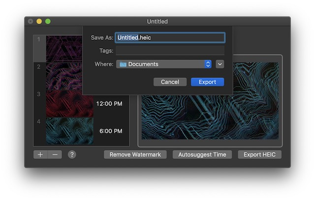 Creating Your Own Dynamic Wallpaper in macOS Mojave00001