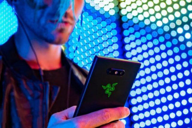 razer phone 2 cameras and glass back