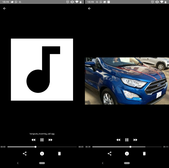 files go audio player