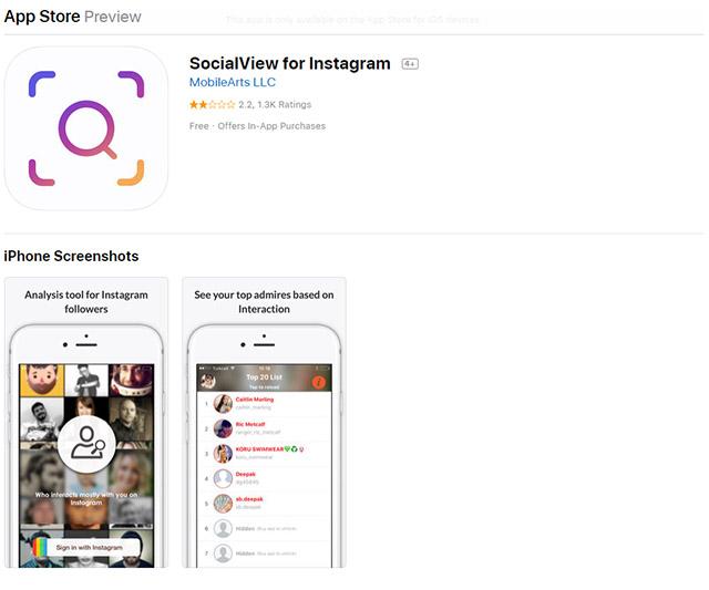 SocialView for Instagram