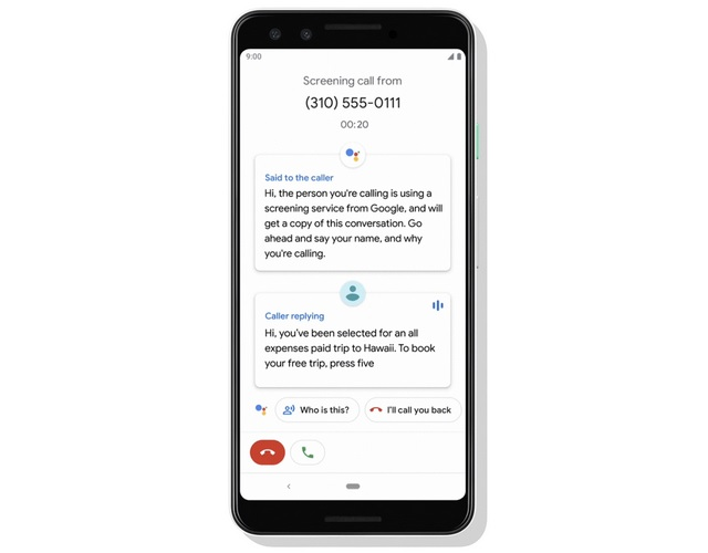Google Pixel Will Automatically Save AI-Powered Call Screen