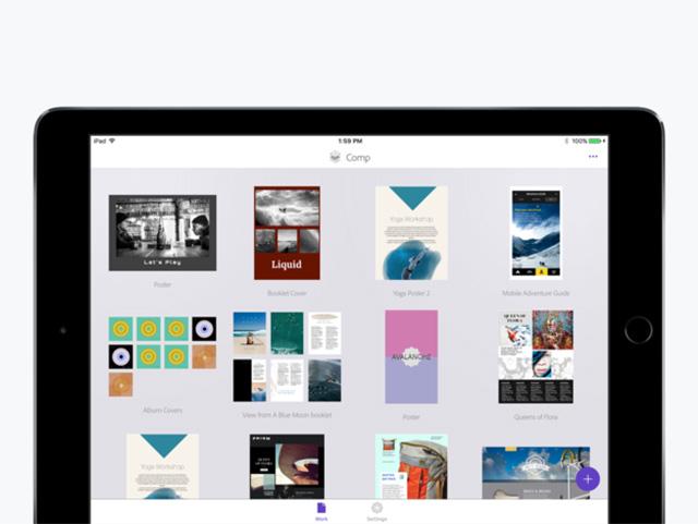 Adobe Comp CC - Лучшие приложения Apple Pencil