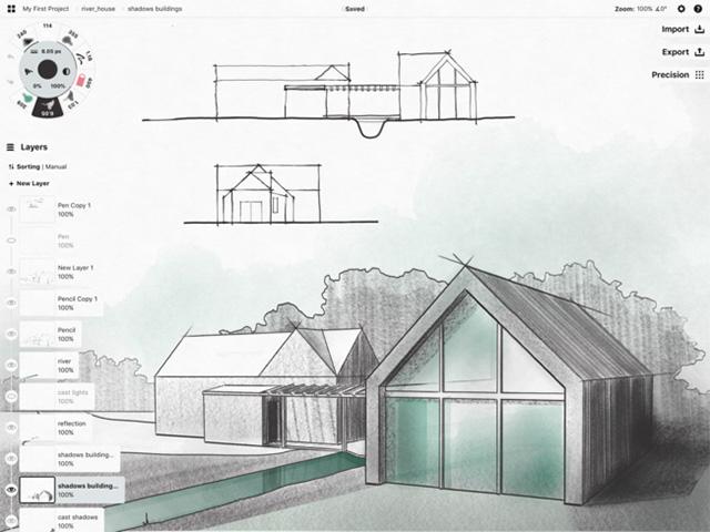 Concepts - Лучшие приложения Apple Pencil