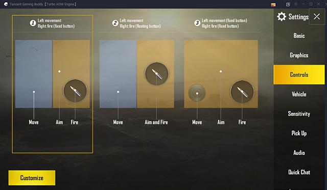 Personaliza los controles del juego