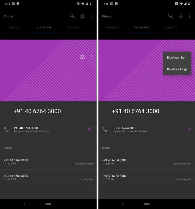 10. Блокировка отдельных номеров на Android