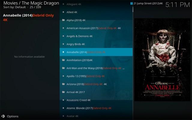 Kodi add-on add-ons addon addons magic dragin radio 4k