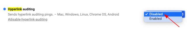 google chrome flag - конфиденциальность