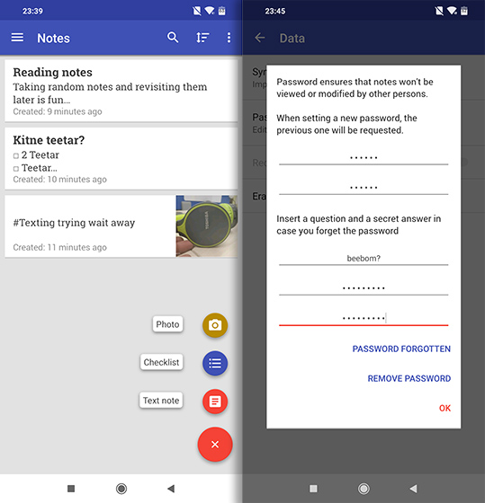 Open Source Apps For Android omni notes