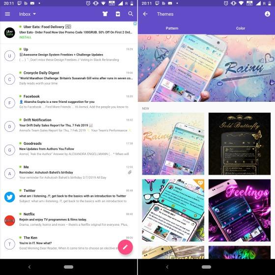 Go Mail Android почтовый клиент