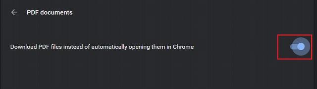 Отключить Chrome PDF Viewer 1