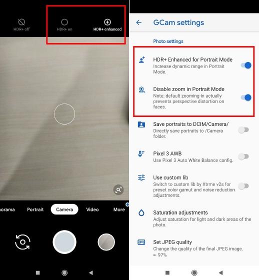 Google Camera HDR +