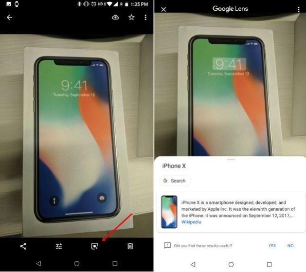 Найти информацию об изображении с помощью Google Lens 1