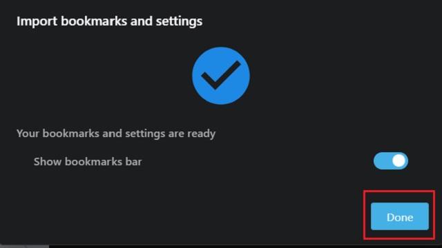 Импорт закладок Chrome в Opera 3