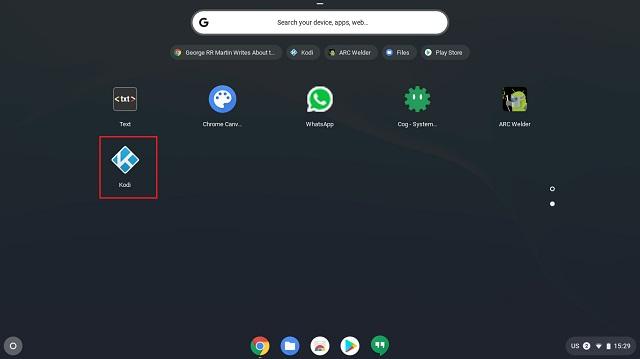 Install Kodi on Chromebook as a Chrome Extension 4
