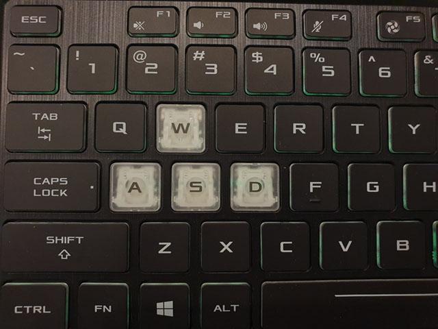 Клавиатура ASUS FX505DT