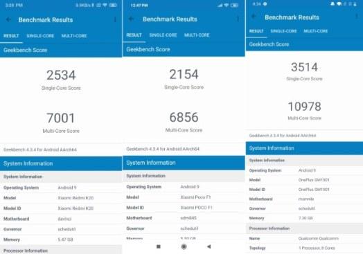 Snapdragon 730 geekbench 4 балла