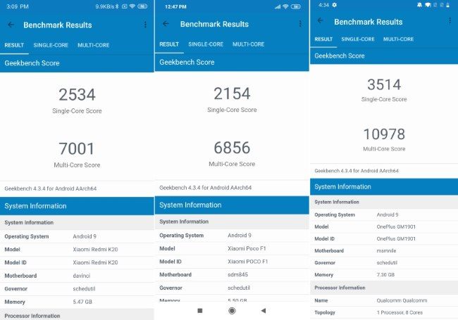 Snapdragon 730 geekbench 4 балла