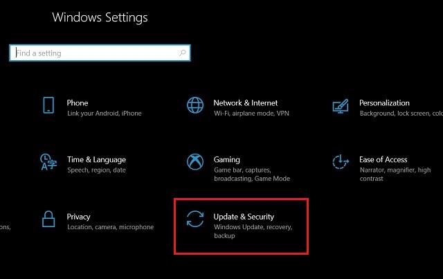 Cómo arreglar el uso elevado de CPU después de la actualización KB4512941 en Windows 10