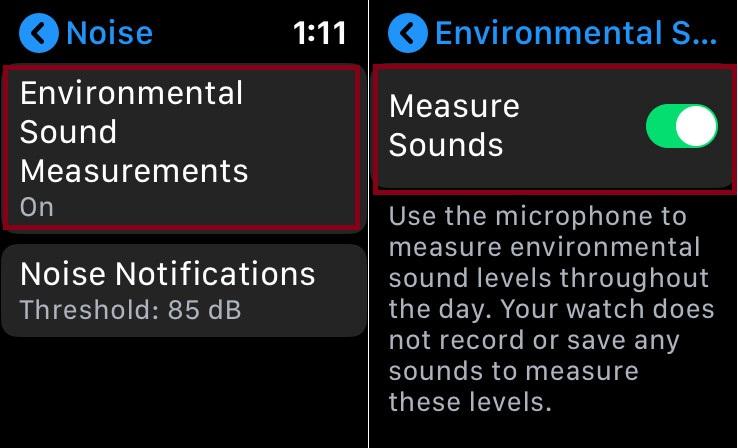 Измерьте звук окружающей среды