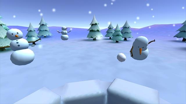 снежный удар vr