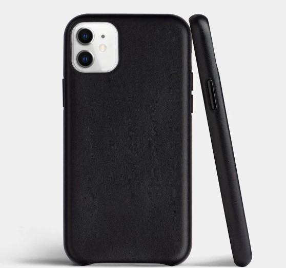 кожаный чехол для iPhone 11