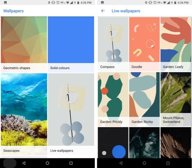Установите Pixel 4 Live Wallpapers 2